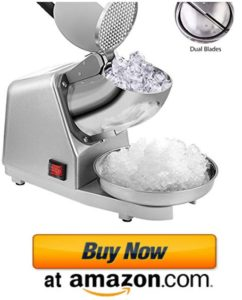 VIVOHOME electric ice crusher snow cone machine
