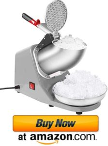 VIVOHOME ice crusher snow cone machine