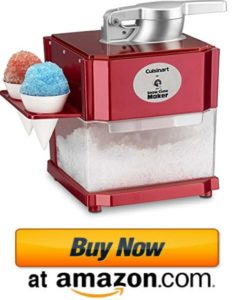 Cuisinart SCM-10 snow cone maker & snow fluff machine 2021