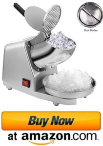 Electric dual ice crusher commercial