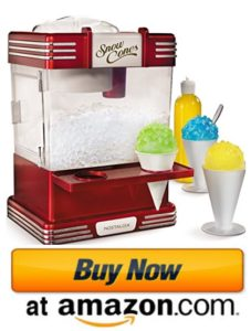 Nostalgia commercial shaved ice machine