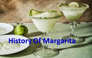 History of margarita with frozen drink recipes