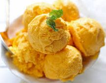 Mango Ice Cream Recipe at home without ice cream maker