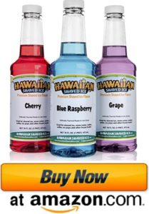 hawaiian punch shaved ice syrup