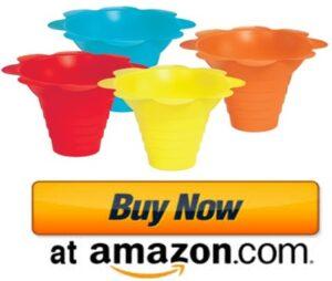 Plastic snow cone cups