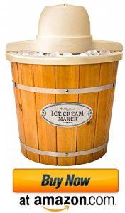 nostalgia wooden bucket ice cream maker 2021