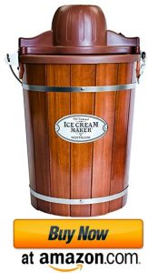 nostalgia wooden bucket ice cream makers 2021