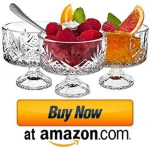 Godinger Dublin Tasters Trifle bowls for ice cream