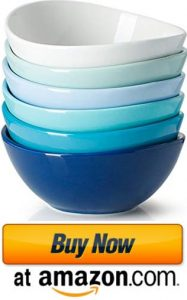 Sweese 101.003 Porcelain Bowls - 10 Ounce for Ice Cream Dessert bowls