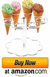 YestBuy Ice Cream Cone Holder Stand Cupcake Stand