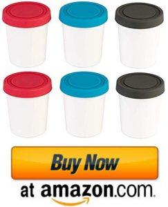 StarPack Portion Control Mini Ice Cream Freezer Containers