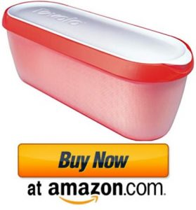 Tovolo Glide-A-Scoop Ice Cream Tub, 1.5 Quart Airtight Reusable Container
